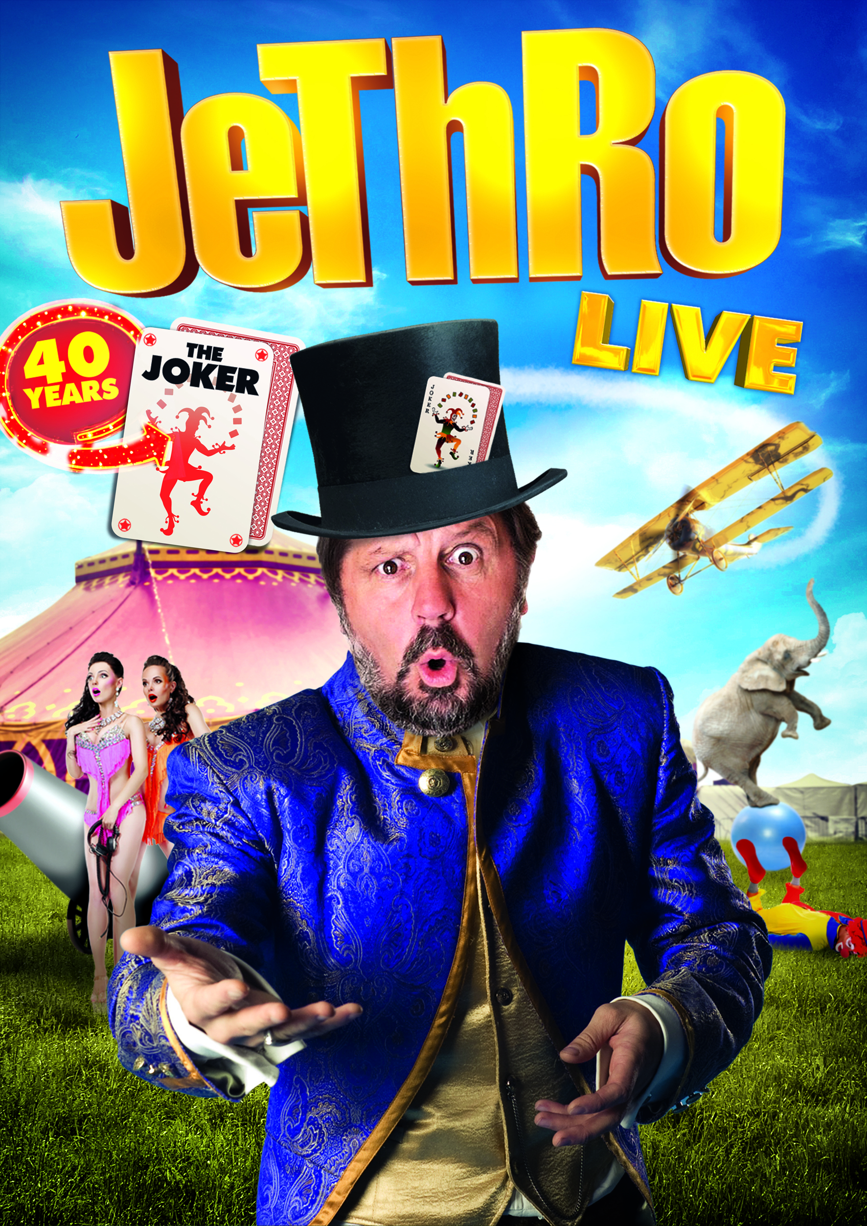 Jethro - 40 Years the Joker circus image