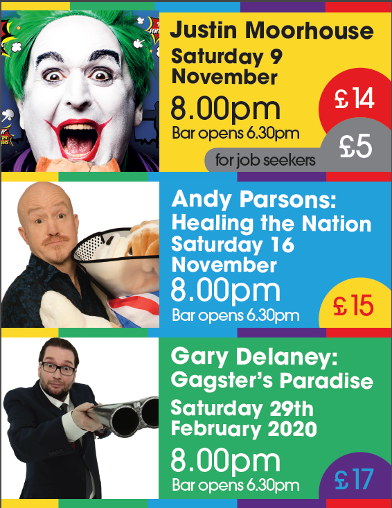 comedy in uffculme devon